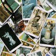 Tarot card reading and accessories — Foto de Stock