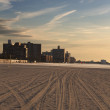 Coney Island beach - Stock Photo