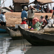 Stock Photo: Boat - Tonle Sap, Cambodia