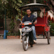 Stock Photo: Cyclo - Siem Reap, Cambodia