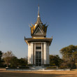 Pagoda - The Killing Fields of Choeung Ek, Phnom Penh, Cambodia — Stock Photo