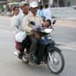 Motorbike - Phnom Penh, Cambodia - Stock Photo