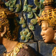 Sculpture - Wat Phnom, Phnom Penh, Cambodia — Stock Photo