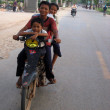 Motorbike - Siem Reap, Cambodia - Stock Photo