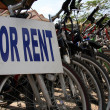 Stock Photo: Bike For Rent - Siem Reap, Cambodia