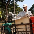 Stock Photo: Sugar Cane Vendor - Siem Reap, Cambodia