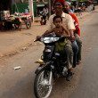 Stock Photo: Motorbike - Siem Reap, Cambodia
