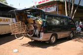 Moving Van - Phnom Penh, Cambodia — Stock Photo