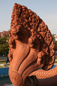 Niepodległości pomnik, phnom penh, kambodża — Zdjęcie stockowe