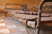 Cell - Tuol Sleng Museum (S21 Prison), Phnom Penh, Cambodia — Stock Photo