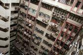 Balconies - Hong Kong City, Asia — Stock Photo
