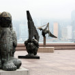 Museum of Art, Hong Kong - Stockfoto