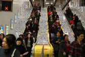 Escalator - Hong Kong City, Asia — Stock Photo