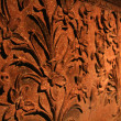 Ancient Carving Sculpture - Asian Civilization Museum — Stock Photo