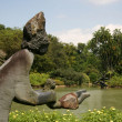 Lake - Botanical Gardens, Singapore — Stock Photo