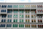 Couleurs windows - singapour — Photo