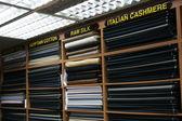 Fabric Shop - Orchard Road, Singapore — Stock Photo