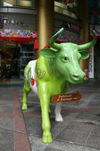 Green Cow - Orchard Road, Singapore — Stock Photo