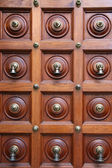 Door Bells - Sri Srinivasa Temple, Singapore — Stock Photo