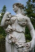 Victoria Statue - Botanical Gardens, Singapore — Stock Photo