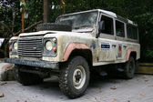 Safari Jeep - Singapore Zoo, Singapore — Stock Photo