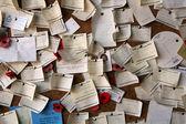 Sympathy Notes - Changi Prison (Chapel Museum), Singapore — Stock Photo