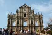 Ruins of St Paul's Cathedral, Macau — Stock Photo