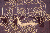 Lion - Macau — Stock Photo