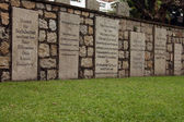 Grave Stone - Protestant Chapel & Cemetery, Macau — Stock Photo