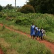 School Children - Uganda, Africa — Stock Photo