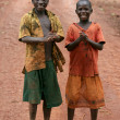 Foto de Stock  : Two Boys - Uganda, Africa