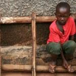 African Girl - Uganda, Africa — Stock Photo