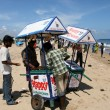 Ice Cream Vendor - Marina Beach, Chennai, India — Stock Photo