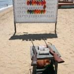 Rifle Range - Marina Beach, Chennai, India — Stock Photo #11639456