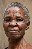 Old Woman in Uganda, Africa — Stock Photo