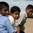 Kids - Marina Beach, Chennai, India — 图库照片