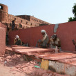 Labourers - Agra Fort, Agra, India — Stock Photo