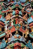 Carving Detail - Kapaleeshwar Temple, Chennai, India — Stock Photo