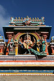 Escultura detalhada - templo de kapaleeshwar, chennai, índia — Foto Stock