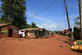 Shanty Town in Kampala - Uganda, Africa — Stock Photo