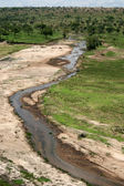 Tarangire River - Tanzania, Africa — Stock Photo