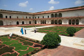 Shish Mahal (Glass Palace), Agra Fort, Agra, India — Stock Photo