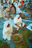 Cooking at Golden Temple, Indian — Stock Photo