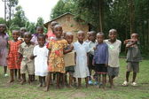 Schule, uganda, afrika — Stockfoto