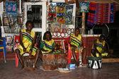 Traditional Performance - Tanzania, Africa — Stock Photo