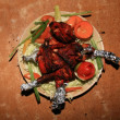 Tandoori Chicken, India — 图库照片