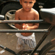 Street Boy - Mumbai, India — Stock Photo
