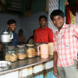 Tea Shop - Slums in Bombaby, Mumbai, India — Stock Photo