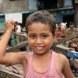 Foto de Stock  : Cute Boy - Slums in Bombaby, Mumbai, India