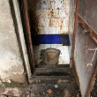 Toilet - Slums in Bombaby, Mumbai, India — Stock Photo